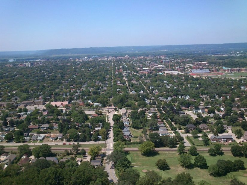 La Crosse - Bluff view